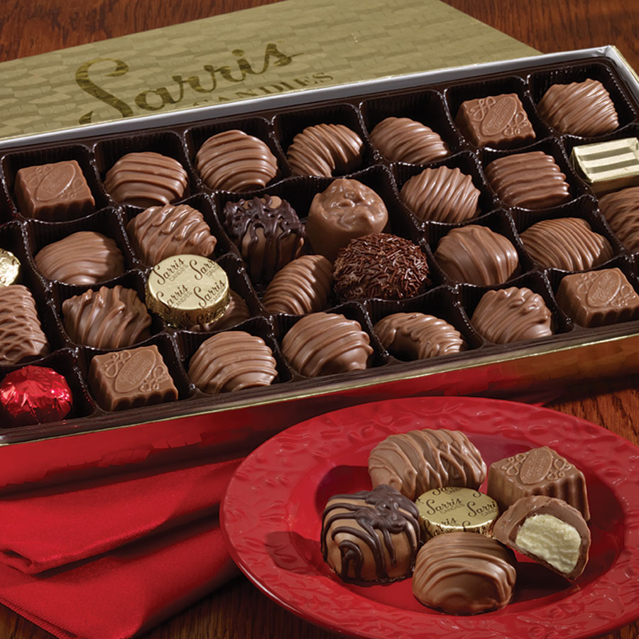 Various Chocolate from Sarris Candies