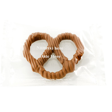 Individual Pretzel with Text