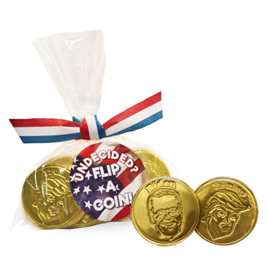Foiled Election Coins