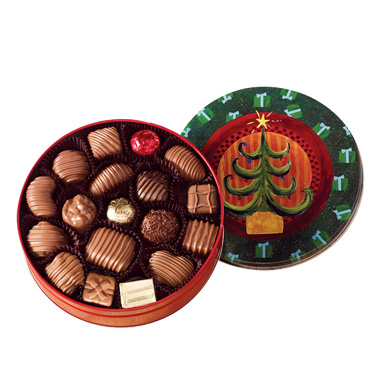 Chocolate Assortment-Christmas Tin