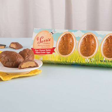 Four-Pack Peanut Butter Teaser Egg Box