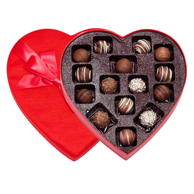 Heart- Assorted Truffles