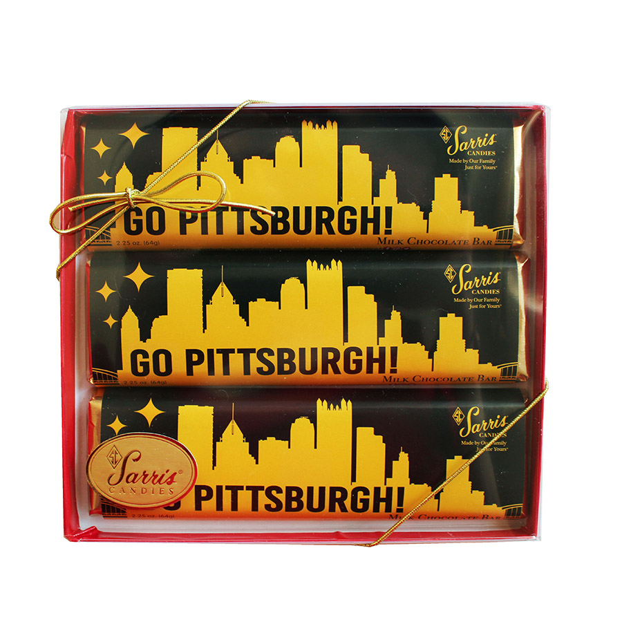 Go Pittsburgh Bars 3 pack
