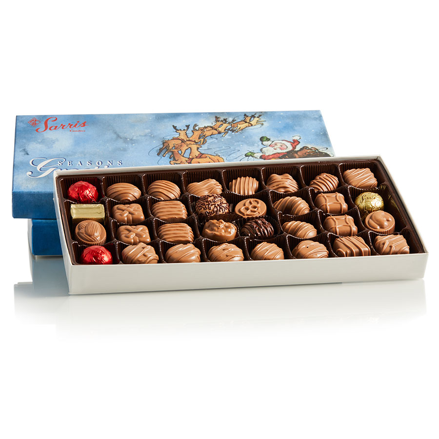Sleigh Box Milk Assortment 1 lb.