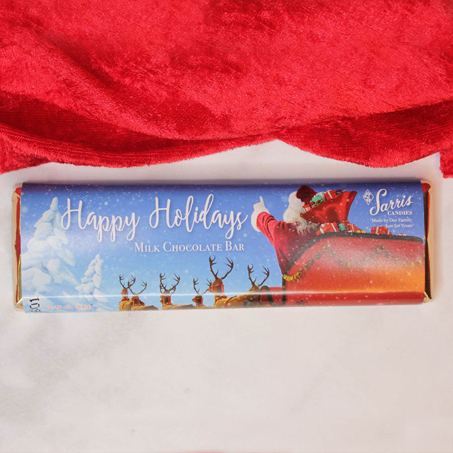 Santa Sleigh Holiday Bar