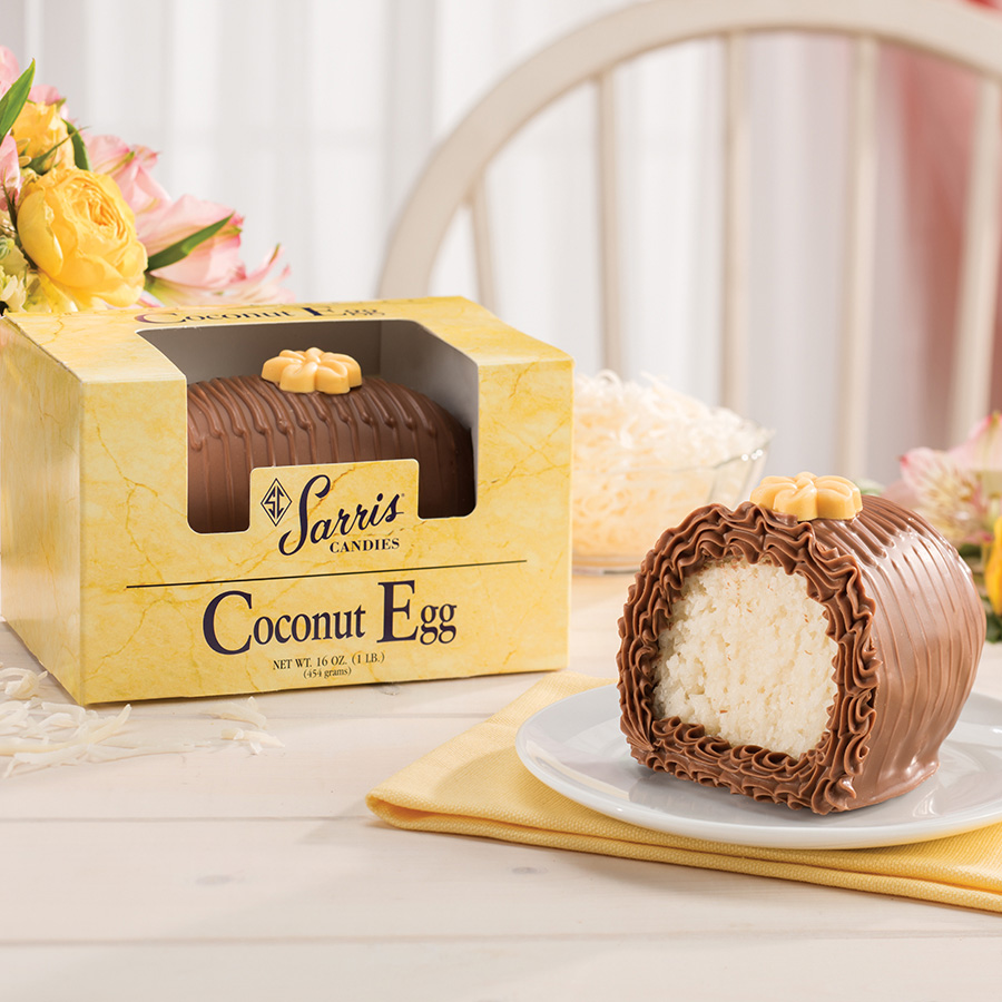 Coconut Egg 1lb.