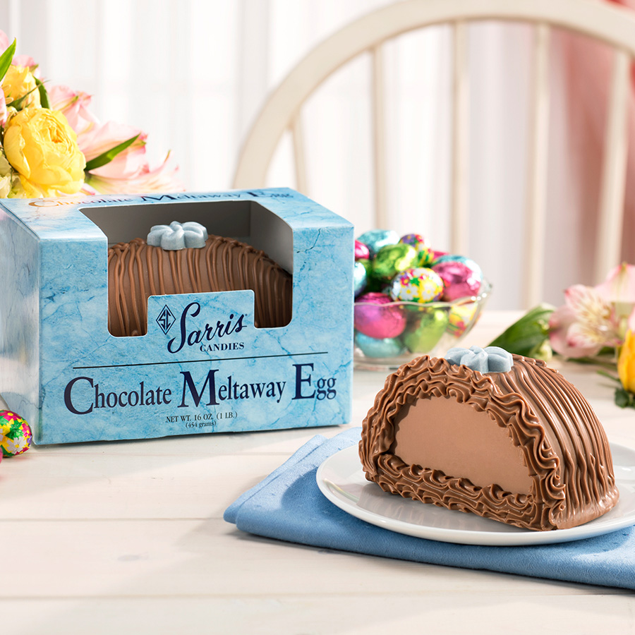 Chocolate Meltaway Egg