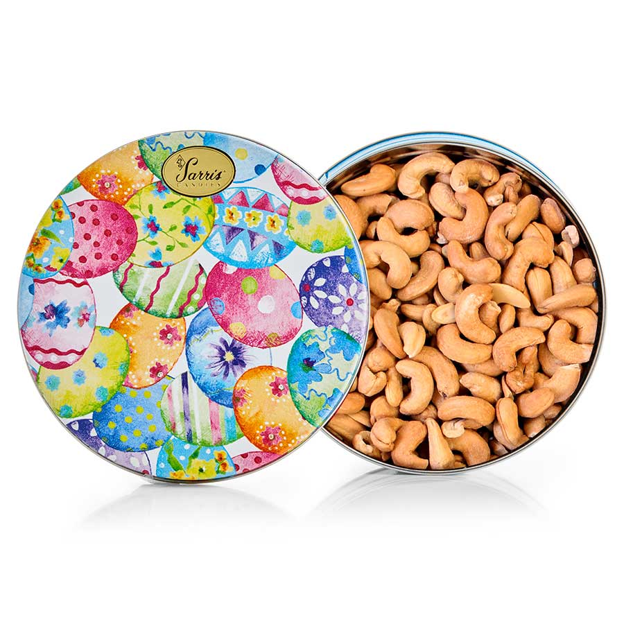 Whole Jumbo Cashews-Easter Tin