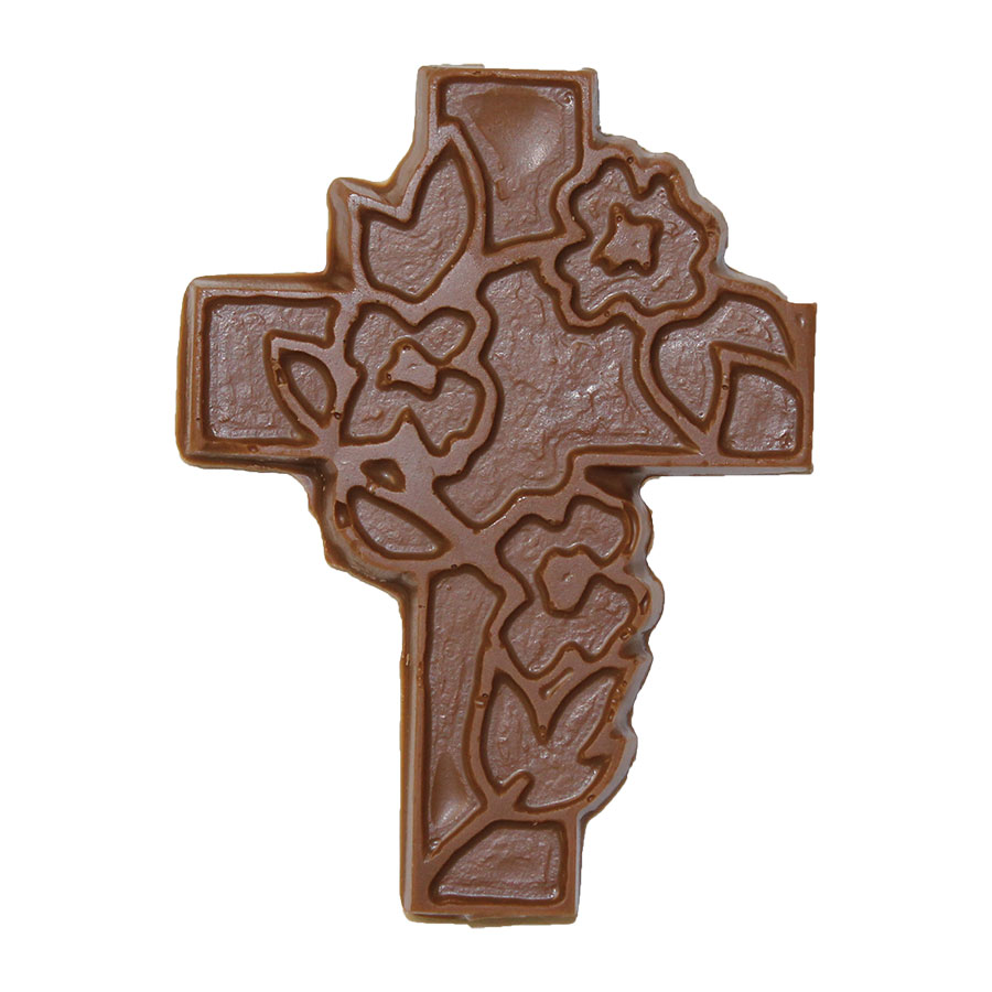 Cross with Lilies