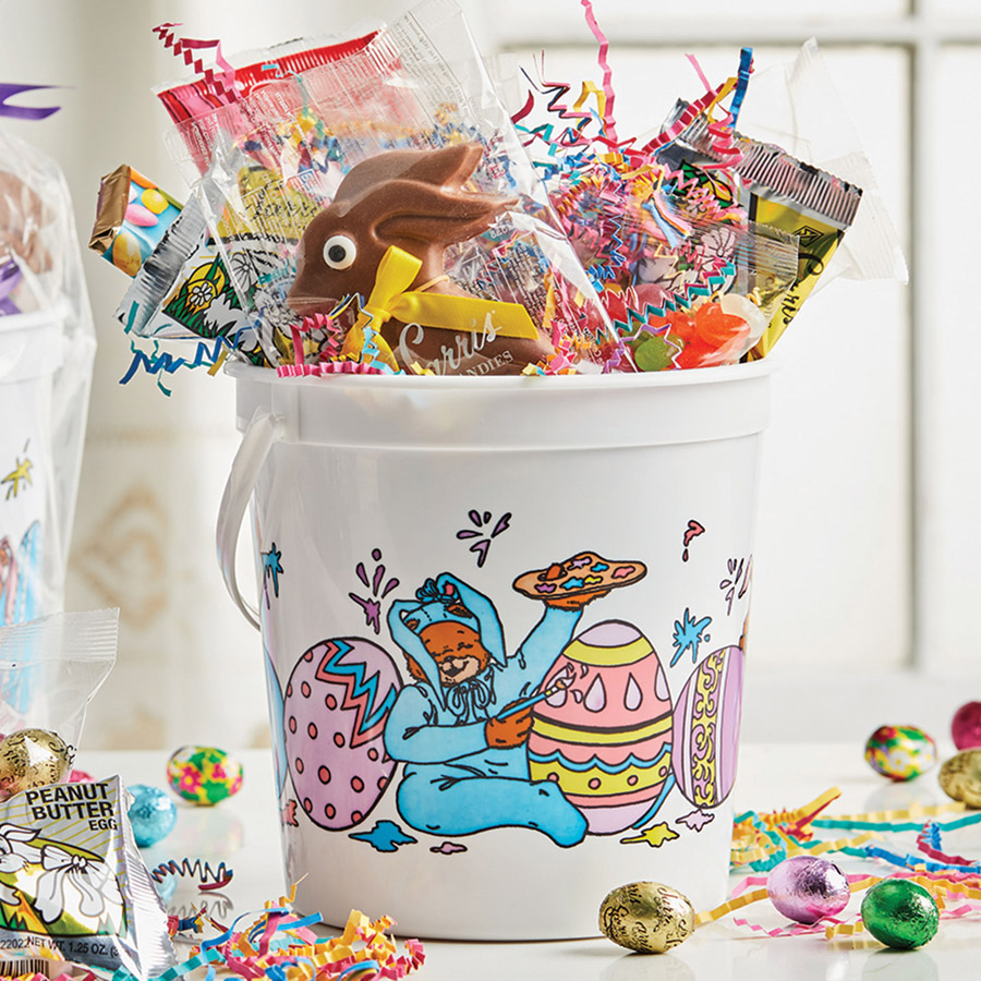 Sarris candies the worlds best chocolates easter basket pail 1 lb 3 oz reg 2995 now 1497 negle Images