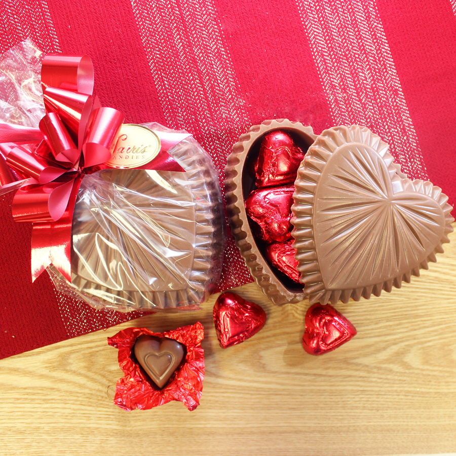 Ruffle Chocolate Heart