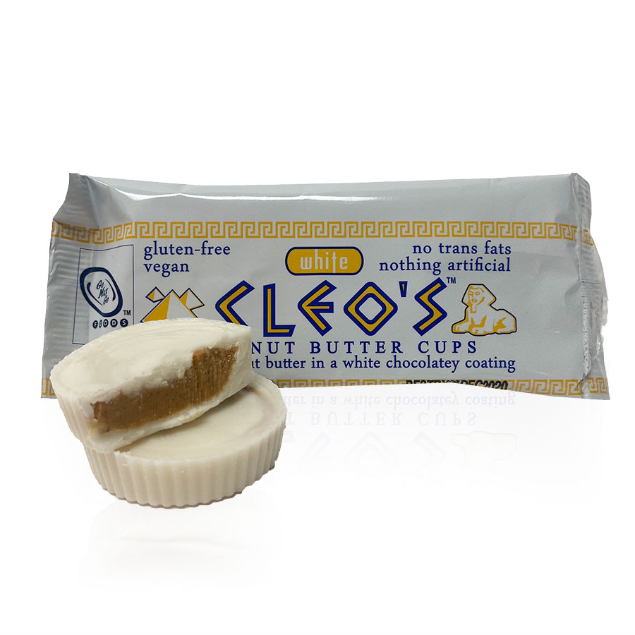 Cleo Vegan White Peanut Butter Cups