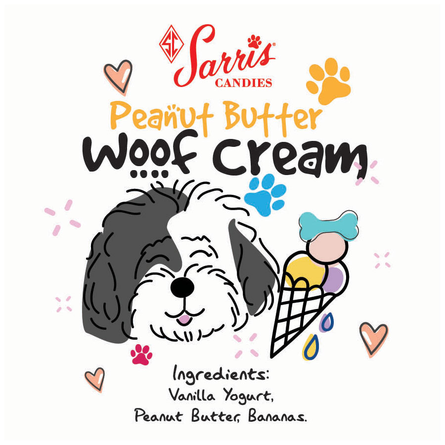 Woof Cream Peanut Butter