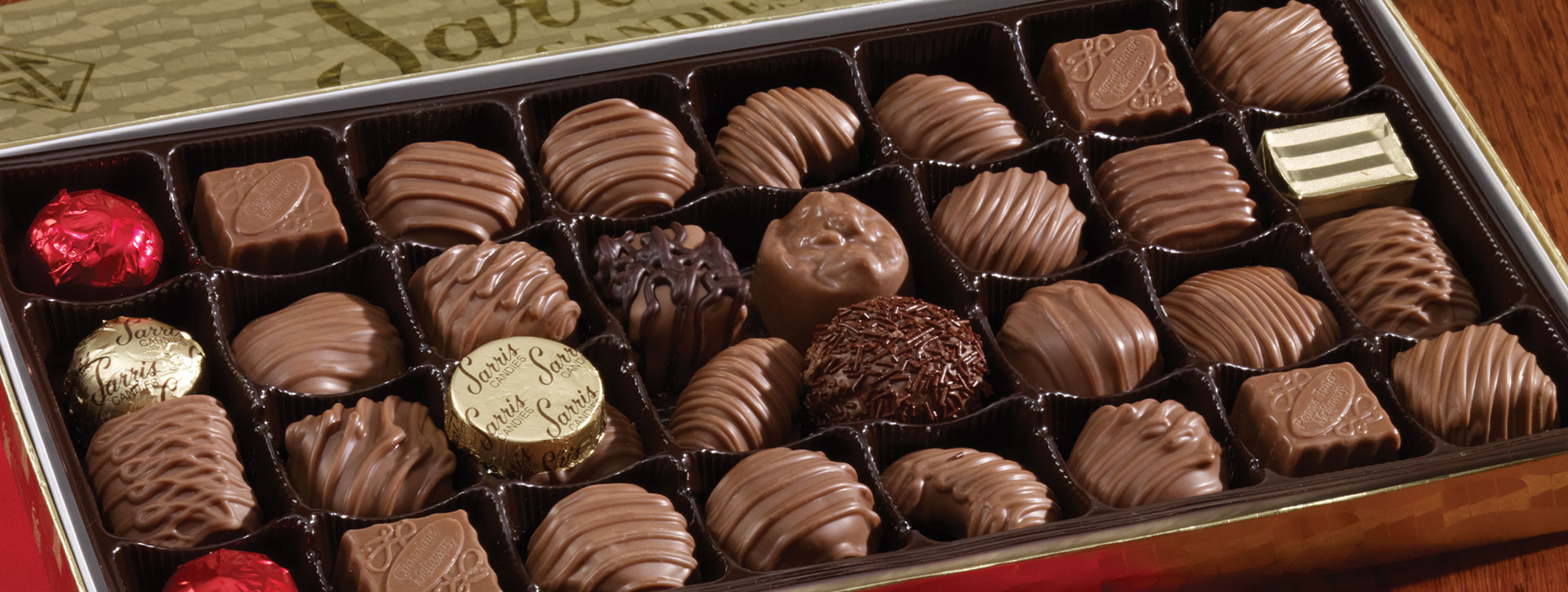 Sarris Candies The Worlds Best Chocolates