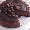 Deep Dark Chocolate Cheesecake